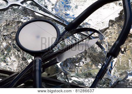 Frozen Stethoscope