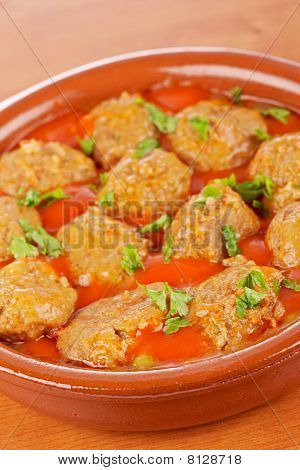 Fresh Meatballs With Parsley