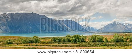 Lake Tekapo in New Zealand's South Island
