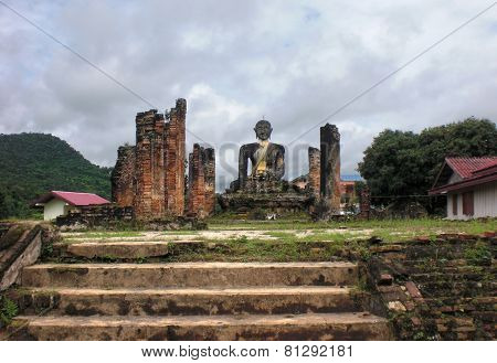 Temple With Buddha Statue