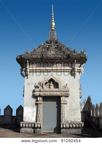 Small Tower In Vientiane