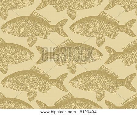 seamless fish pattern (vector)