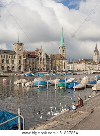 Zurich In Late Autumn