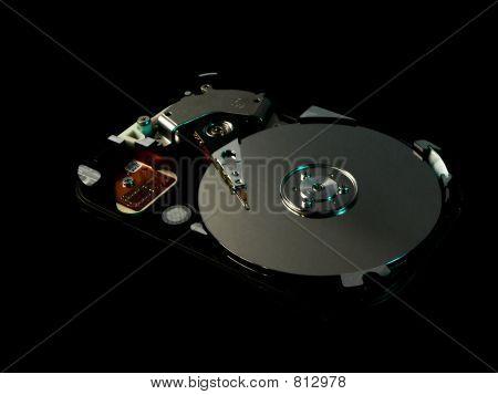 Hard disk dark