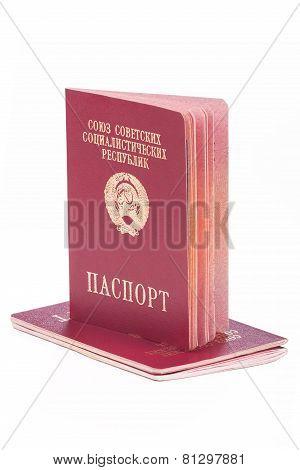 Old Passports Of The Soviet Union
