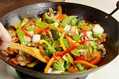 pic of stir fry  - Asian - JPG