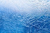 image of cold-weather  - Frozen glass - JPG