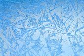 picture of frozen  - Frozen glass - JPG