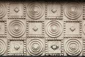 picture of bohemia  - Art Nouveau pattern in Hradec Kralove - JPG