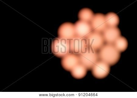 Pink Bokeh Globule Lights