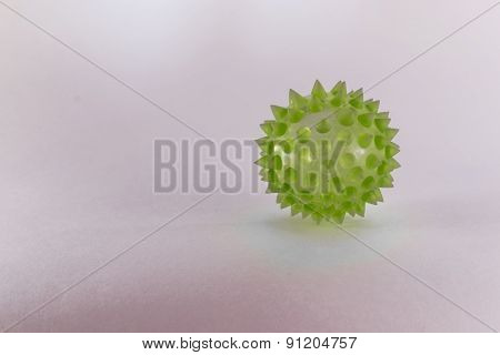 Green Biological Virus With Copyspace