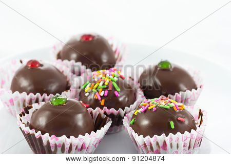 Close Up Chocolate Ball