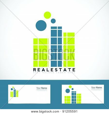 Simple real estate logo