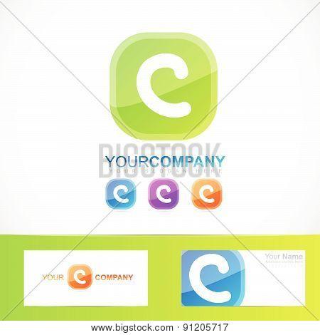 Green letter C logo