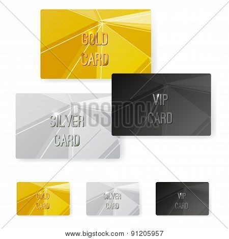 Crystal Structure Metal Premium Card Collection