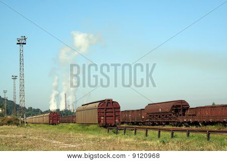 Trains and industry