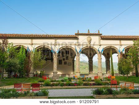 Town Hall Square in Castiglion Fiorentino