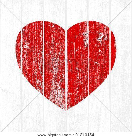 Wooden Valentine