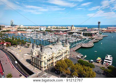 Seaport Barcelona Spain