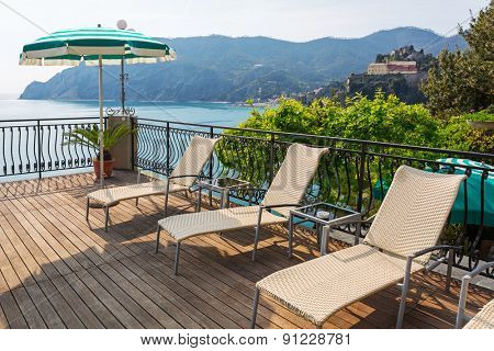 Holidays at Ligurian Sea in Italy