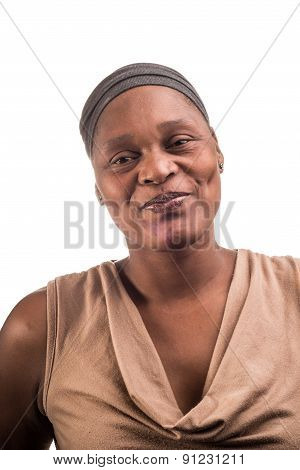 Portrait Of An African Lady