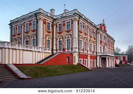 The Kadriorg Palace Built By Tsar Peter The Great In Tallinn, Estonia