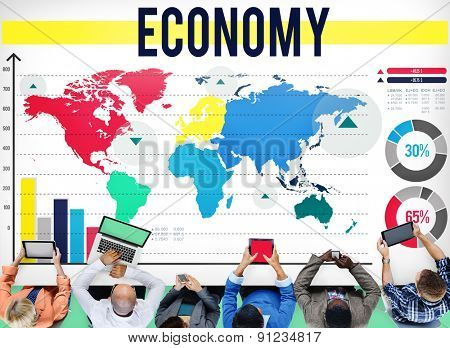 Economy Business Marketing Business Concept