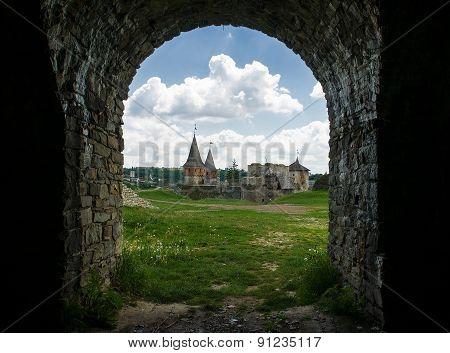 Medieval Castle. Kamenets-podolsk, Ukraine