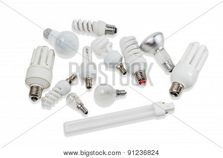 Various Electric Lamps