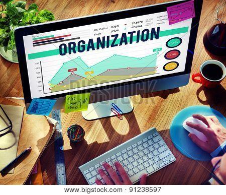 Marketing Planning Strategy Business Organization Concept