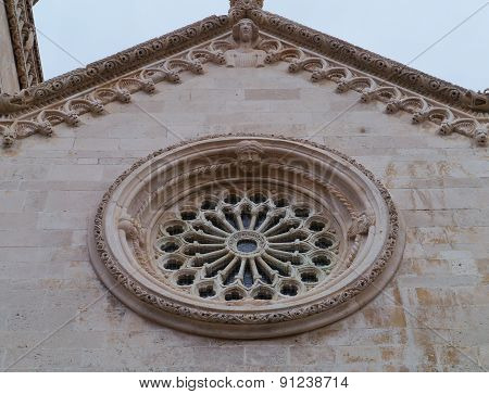The cathedral of St Marco in Korcula