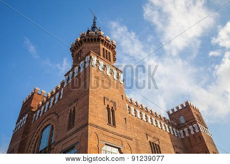 Exterior Of Castell Dels Tres Dragons, Barcelona