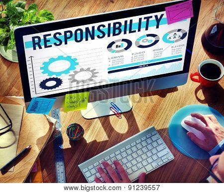 Responsibility Duty Job Reliablity Trust Concept