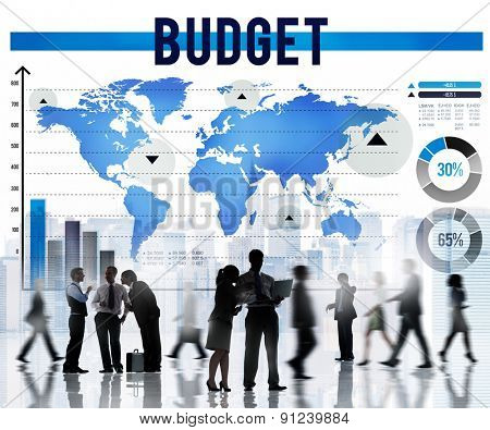 Budget Money Investment Costs Economy Concept
