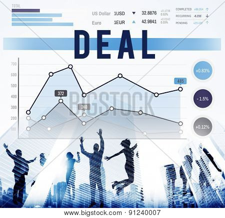Deal Agreement Collaboration Strategy Marketing Concept