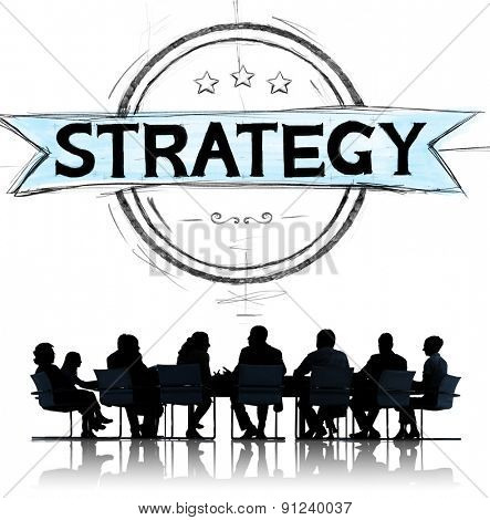 Strategy Planning Business Marketing Agreement Concept