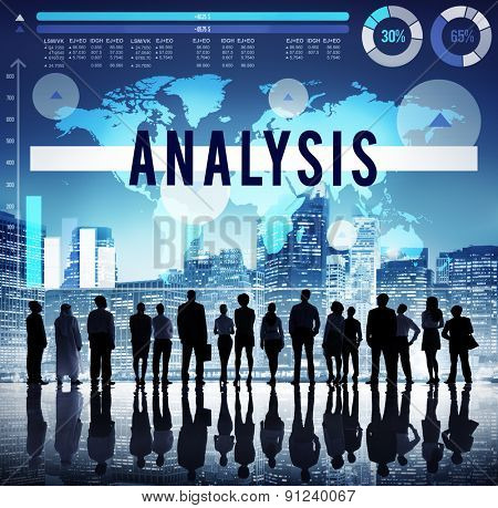 Analysis Planning Strategy Marketing Analytics Concept