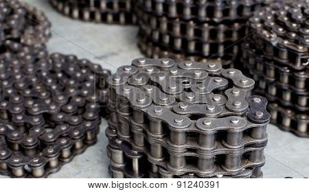 Rolled Motor Chains