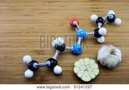 Allicin Molecular Structure