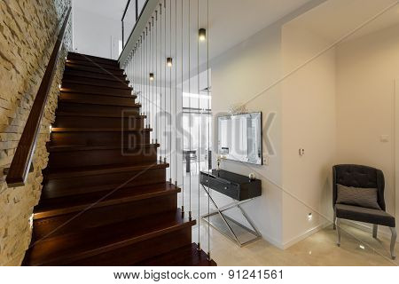 Stylish Wooden Stairs