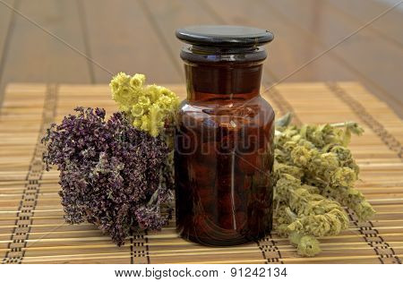 Dried Herbs And Decoration