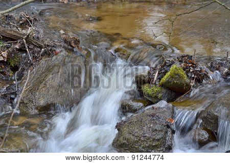 Rapidly Flowing Water
