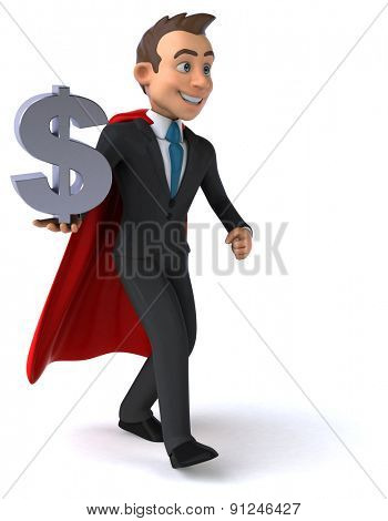 Super businessman