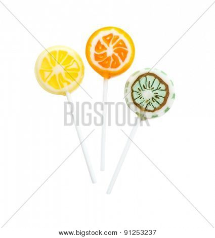lollipop isolated on white background