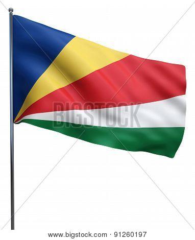 Seychelles Flag Image