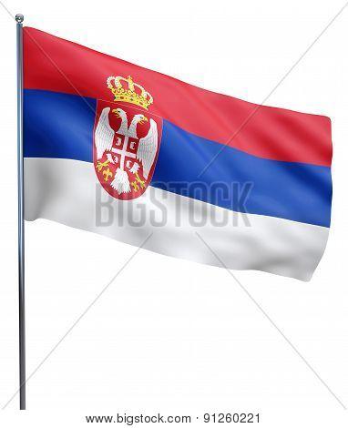 Serbia Flag Image