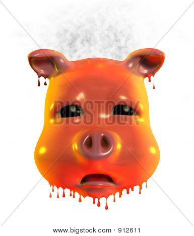 Piggy Emoticon - Very - Hot