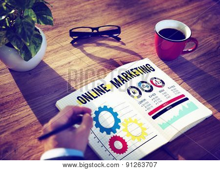 Online Marketing Advertisement Commercial Branding Concept