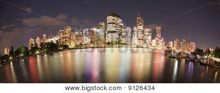 Brisbane with Fish Eye