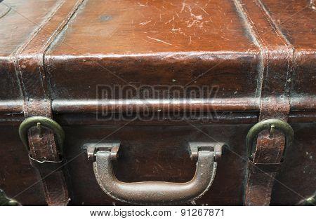 Old, Antique Suitcase